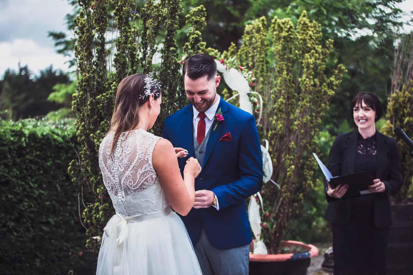 Ethical wedding celebrant Yvonne Cassidy