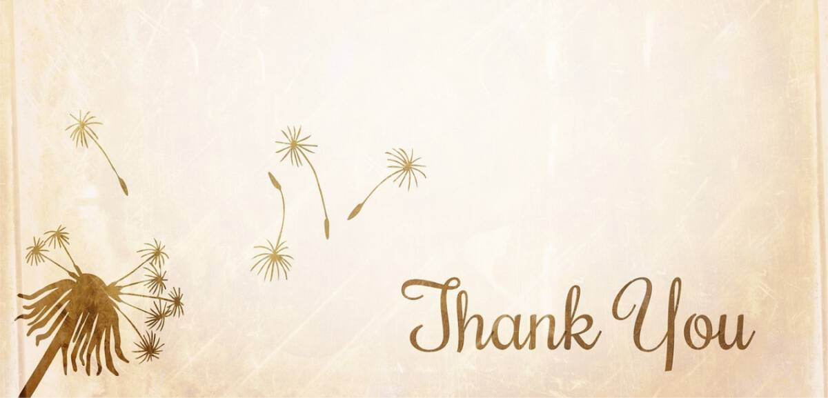 Thank you for subscribing to Yvonne Cassidy Weddings