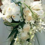 contemporary wedding bouquet