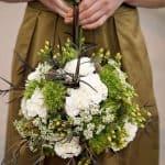 pomander bouquet for wedding