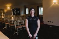 Irish Wedding Celebrant and florist, Yvonne Cassidy