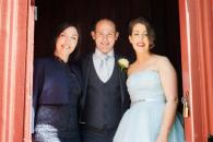 Yvonne Cassidy, wedding celebrant and couple